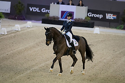 Gevers Katja, (NED), Thriller<br /> Indoor Brabant - Den Bosch 2017<br /> © Hippo Foto - Dirk Caremans<br /> 10/03/2017