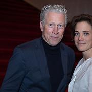 NLD/Amsterdam/20191106 - Premier de Verleiders Female, Hajo Bruins en partner Linde van den Heuvel