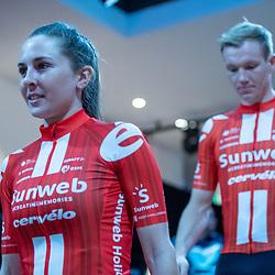 10-12-2019: Wielrennen: Teampresentatie Sunweb: Amsterdam: Juliette Labous