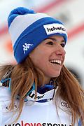 Marta Bassino anlässlich des Audi FIS Ski World Cups 2018 der Frauen in Lenzerheide