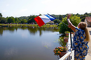 Illustration, Scenery, french flag during the 105th Tour de France 2018, Stage 18, Trie sur Baise - Pau (172 km) on July 26th, 2018 - Photo Luca Bettini / BettiniPhoto / ProSportsImages / DPPI
