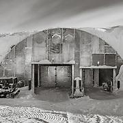 Vehicle Maintenance Archway, South Pole Station