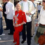 Beachclub Vroeger bestaat 1 jaar, Ronald Kolk en partner Christine Kroonenberg