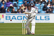 Harry Brook of Yorkshire during the opening day of the Specsavers County Champ Div 1 match between Yorkshire County Cricket Club and Hampshire County Cricket Club at Headingley Stadium, Headingley, United Kingdom on 27 May 2019.