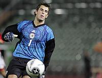 Fotball<br /> Kvalifisering UEFA EM-kvalifisering G18 / U19<br /> Norge v Latvia 2-1<br /> Bislett Stadion<br /> Foto: Morten Olsen, Digitalsport<br /> <br /> Kaspars Ikstens - Latvia