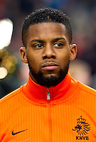 Football Fifa Brazil 2014 World Cup / <br /> Netherlands National Team - <br /> Jeremain Lens of Netherlands