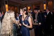 FRANCA SOZZANI; CHARLOTTE CASIRAGHI; , Ella Krasner and Pablo Ganguli host a Liberatum dinner in honour of Sir V.S.Naipaul. The Landau at the Langham. London. 23 November 2010. -DO NOT ARCHIVE-© Copyright Photograph by Dafydd Jones. 248 Clapham Rd. London SW9 0PZ. Tel 0207 820 0771. www.dafjones.com.