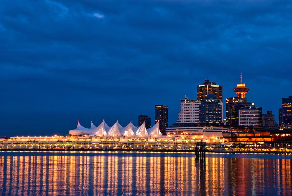 Canada Place, Vancouver, British Columbia, Canada.