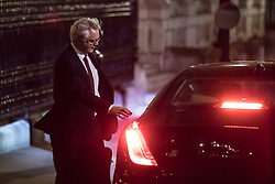 © Licensed to London News Pictures. 28/11/2017. London, UK.  Secretary of State for Exiting the European Union David Davis on Downing Street this evening. Photo credit: Rob Pinney/LNP
