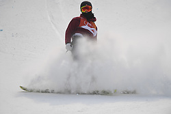 PYEONGCHANG, Feb. 18, 2018  Ferdinand Dahl of Norway competes during the men's ski slopestyle of freestyle skiing at the 2018 PyeongChang Winter Olympic Games, at Phoenix Snow Park, South Korea, on Feb. 18, 2018. Ferdinand Dahl got the 8th place with 76.40 points. (Credit Image: © Lui Siu Wai/Xinhua via ZUMA Wire)
