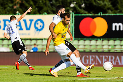 Mustafa Nukic of NK Bravo vs Denis Cerovec  of NK Koper during football match between NK Bravo and NK Koper in 4th Round of Prva liga Telekom Slovenije 2020/21, on September 19, 2020 in Sport park ZAK, Ljubljana, Slovenia. Photo by Grega Valancic / Sportida
