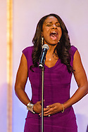 Audra McDonald performs at the Citymeals-on-Wheels 26th Annual Power Lunch for Women, November 16, 2012, at the Plaza Hotel.