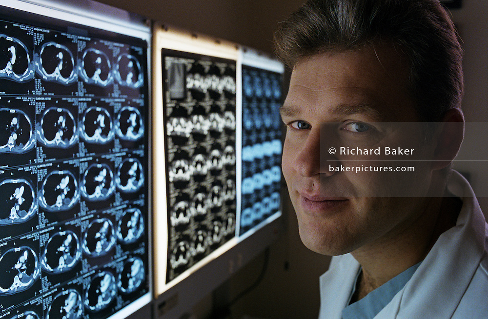 A portrait of Mr Loic Lang-Lazdunski, consultant thoracic surgeon at Guy's & St Thomas' hospital. He has led the mesothelioma program at Guy's since 2003 and has developed a program in minimally invasive surgery for lung cancer and mediastinal tumours. He is involved in clinical and basic research in the field of lung cancer and mesothelioma. http://www.londonbridgehospital.com/LBH/consultant-det/mr-loic-lang-lazdunski/..