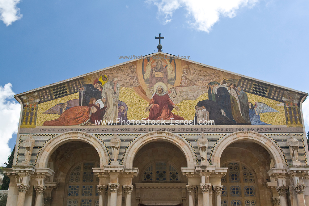 Israel, Jerusalem, The Church of All Nations (Basilica of the Agony)