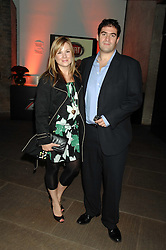 JOANNA MILLER and ZAFAR RUSHDIE at a party to celebrate the launch of the new Fiat Bravo held at The Roundhouse Theatre, Chalk Farm Road, London on 13th June 2007.<br />