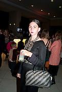 REBA MAYBURY, Opening of Eadweard Muybridge and Rachel Whiteread exhibitions. Tate Britain. Millbank. 6 September 2010. -DO NOT ARCHIVE-© Copyright Photograph by Dafydd Jones. 248 Clapham Rd. London SW9 0PZ. Tel 0207 820 0771. www.dafjones.com.