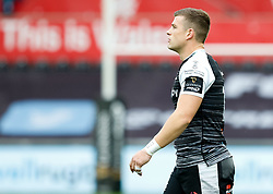Scott Williams of Ospreys<br /> <br /> Photographer Simon King/Replay Images<br /> <br /> Guinness PRO14 Round 2 - Ospreys v Cheetahs - Saturday 8th September 2018 - Liberty Stadium - Swansea<br /> <br /> World Copyright © Replay Images . All rights reserved. info@replayimages.co.uk - http://replayimages.co.uk