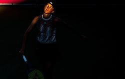 PORTOROZ, SLOVENIA - SEPTEMBER 18:   Kaja Juvan of Slovenia in semifinal during the WTA 250 Zavarovalnica Sava Portoroz at SRC Marina, on September 18, 2021 in Portoroz / Portorose, Slovenia. Photo by Vid Ponikvar / Sportida