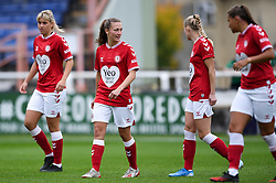 Charlie Wellings of Bristol City Women prior to kick off - Mandatory by-line: Ryan Hiscott/JMP - 18/10/2020 - FOOTBALL - Twerton Park - Bath, England - Bristol City Women v Birmingham City Women - Barclays FA Women's Super League