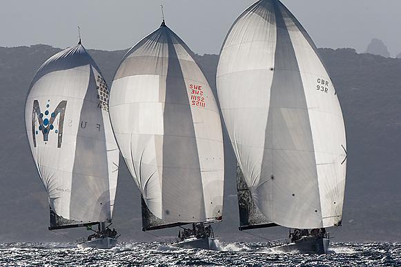 07_014104 © Sander van der Borch. Porto Cervo - ITALY,  28 September 2007 . TP52 Worlds in Porto Cervo (23/29 September 2007). Race 7.