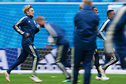 July 2, 2018 - St Petersburg, RUSSIA - 180702 Emil Forsberg of the Swedish national football team at a practice session during the FIFA World Cup on July 2, 2018 in St Petersburg..Photo: Joel Marklund / BILDBYRN / kod JM / 87743 (Credit Image: © Joel Marklund/Bildbyran via ZUMA Press)