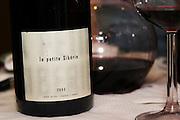 Cuvee la petite siberie. Domaine Le Clos des Fees. Roussillon. France. Europe. Bottle.