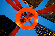 New York City: Financial District sculpture