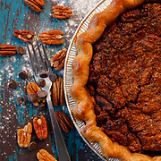 A finished pecan pie from PJ Pies. <br /> Nathan Lambrecht/The Monitor
