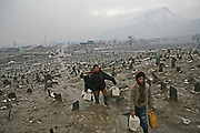 Boys fetch water in Kabul, Afghanistan.