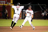 PHOENIX, AZ - JUNE 5: The D-backs defeat the Dodgers 3-2. (Photo by Sarah Sachs/Arizona Diamondbacks)