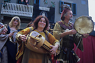 Medieval music during the Arcidosso's Chesnut feast. October