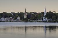 Mahone Bay churchs, Nova Scotia