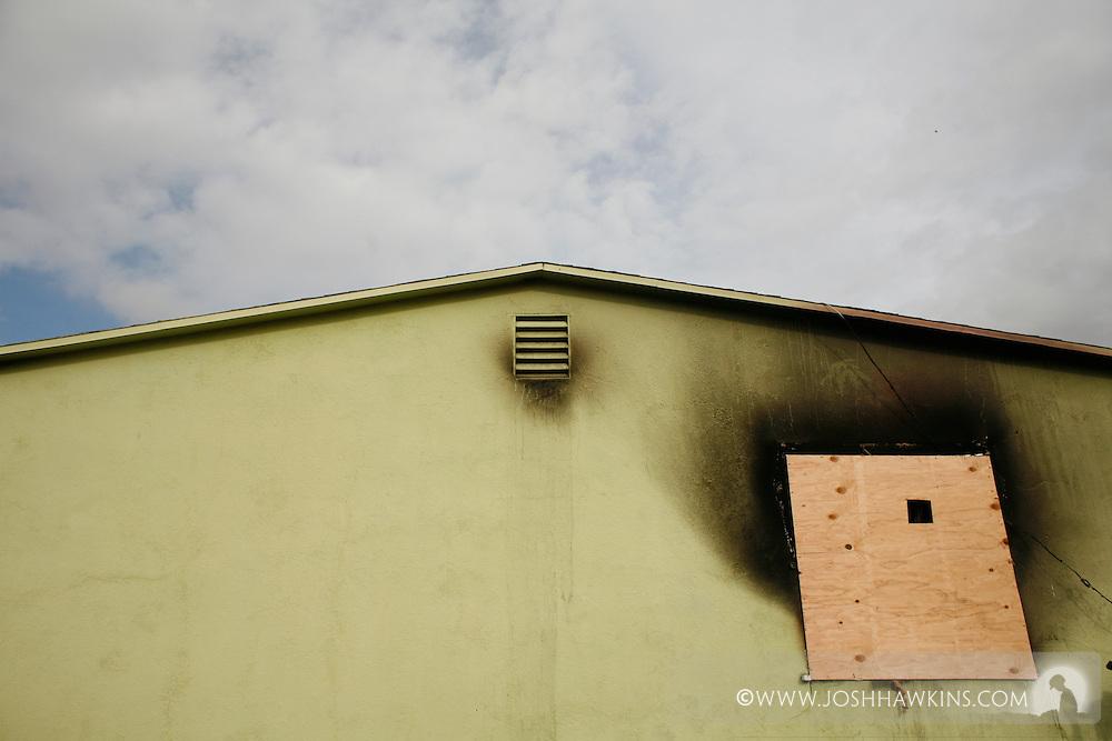House fire - 1944 H Street 89106