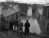 1954 - 08/12 North Strand Flooding, Dublin3, Ireland.