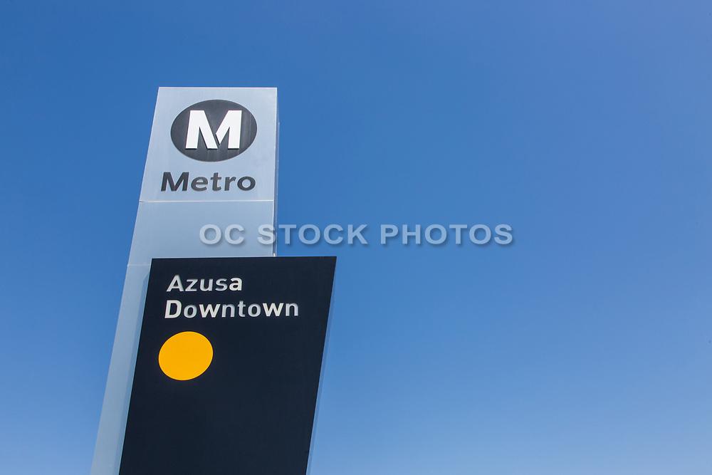 Metro Gold Line Downtown Azusa Station