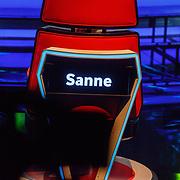 NLD/Hilversum/20180216 - Finale The voice of Holland 2018, stoel Sanne Hans