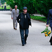 NLD/Amsterdam/20110729 - Uitvaart actrice Ina van Faassen, Hans Kemna en Hans Kesting