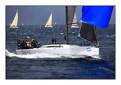 Brewin Dolphin Scottish Series 2011, Tarbert Loch Fyne - Yachting - Day 3 of the 4 day series. Windier!..GBR5940R Tokoloshe, Michael Bartholomew, Royal Cape YC, King 40..