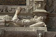 Kirche innen, Detail, Altstadt, Michelstadt, Odenwald, Naturpark Bergstraße-Odenwald, Hessen, Deutschland | church interior, Michelstadt, Odenwald, Hesse, Germany