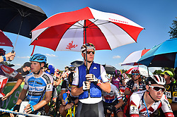 September 24, 2017 - Waterloo, UNITED STATES - Belgian world champion Wout Van Aert pictured at the start of the 'Trek CX Cup' cyclocross cycling race, the second stage of the world cup cyclocross in Waterloo (WI), USA, Sunday 24 September 2017. BELGA PHOTO DAVID STOCKMAN (Credit Image: © David Stockman/Belga via ZUMA Press)