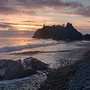 Ruby Beach Sunset - Olympic National Park, WA