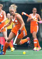 DEN HAAG - KITTY VAN MALE.Nederland speelt oefenwedstrijd tegen USA in het Kyocera Stadion. COPYRIGHT KOEN SUYK