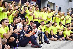 October 1, 2017 - Sepang, Malaysia - Motorsports: FIA Formula One World Championship 2017, Grand Prix of Malaysia, ..Christian Horner (GBR, Red Bull Racing), #3 Daniel Ricciardo (AUS, Red Bull Racing), #33 Max Verstappen (NLD, Red Bull Racing), Dr. Helmut Marko (AUT, Red Bull Racing) (Credit Image: © Hoch Zwei via ZUMA Wire)