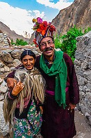 """Brokpa tribe in the remote Dahanu Valley. The valley is known as the """"Land of the Aryans"""" as the people there are considered the purest descendants of the ancient Indo-Europeans; Ladakh; Jammu and Kashmir State; India."""