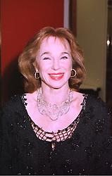 Actress SHIRLEY ANNE FIELD at a ball in London on 29th January 1998. MEY 19