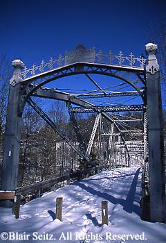 Waterville Bridge, Swatara State Park, Lebanon and Schuylkill Counties, PA