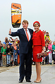 Willem-Alexander en Maxima bezoeken de provincie Zuid Holland en Zeeland