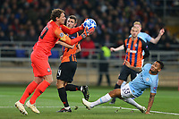 KHARKOV, UKRAINE - OCTOBER 23:  Gabriel Jesus of Manchester City in action during the Group F match of the UEFA Champions League between FC Shakhtar Donetsk and Manchester City at Metalist Stadium on October 23, 2018 in Kharkov, Ukraine. (Photo by MB Media/Getty Images)