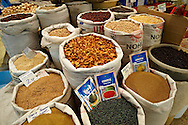 Spice market of the shops of the Bazaar of Konya, Turkey .<br /> <br /> If you prefer to buy from our ALAMY PHOTO LIBRARY  Collection visit : https://www.alamy.com/portfolio/paul-williams-funkystock/konya.html<br /> <br /> Visit our TURKEY PHOTO COLLECTIONS for more photos to download or buy as wall art prints https://funkystock.photoshelter.com/gallery-collection/3f-Pictures-of-Turkey-Turkey-Photos-Images-Fotos/C0000U.hJWkZxAbg
