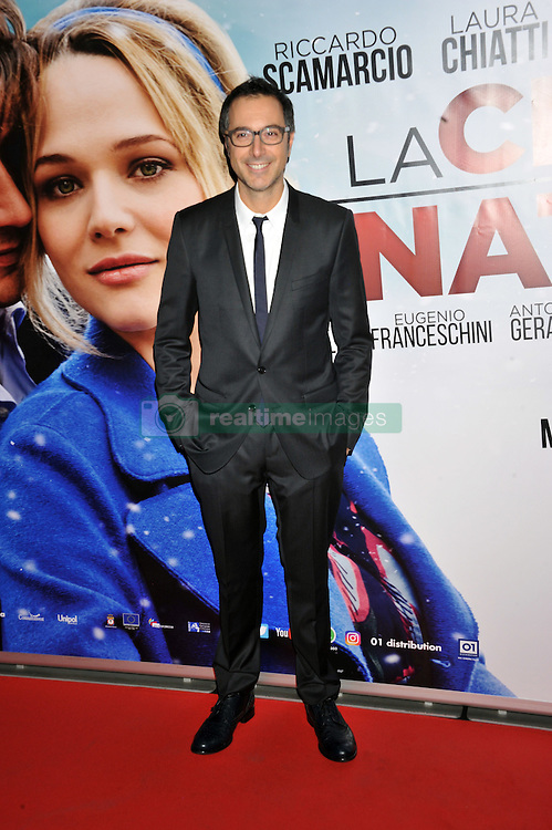 """Luca Bianchini attending the """"The Christmas Dinner"""" premiere held in Rome, Italy."""